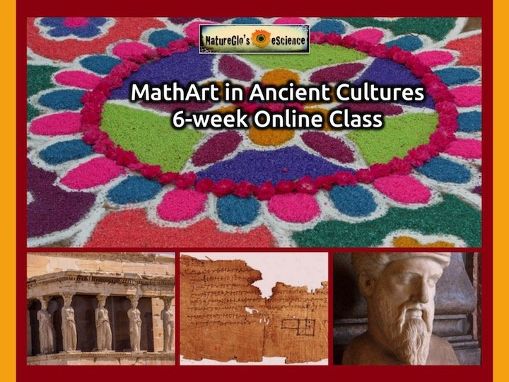 MathArt in Ancient Cultures 6-week Online Unit Study
